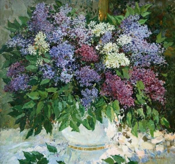 «Цветы для вас…» от замечательных художников Петербурга 26 апреля — 09 мая