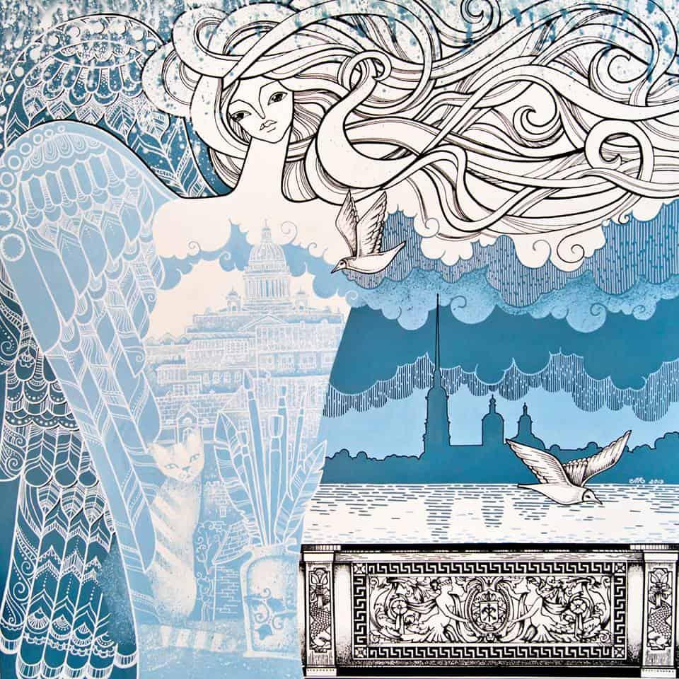 Объединение художников «Которого Neт» Выставка  «НЕНОЧЬ. Ночь, Которой Нет» Живопись, графика, ДПИ 16 июня —  3 июля