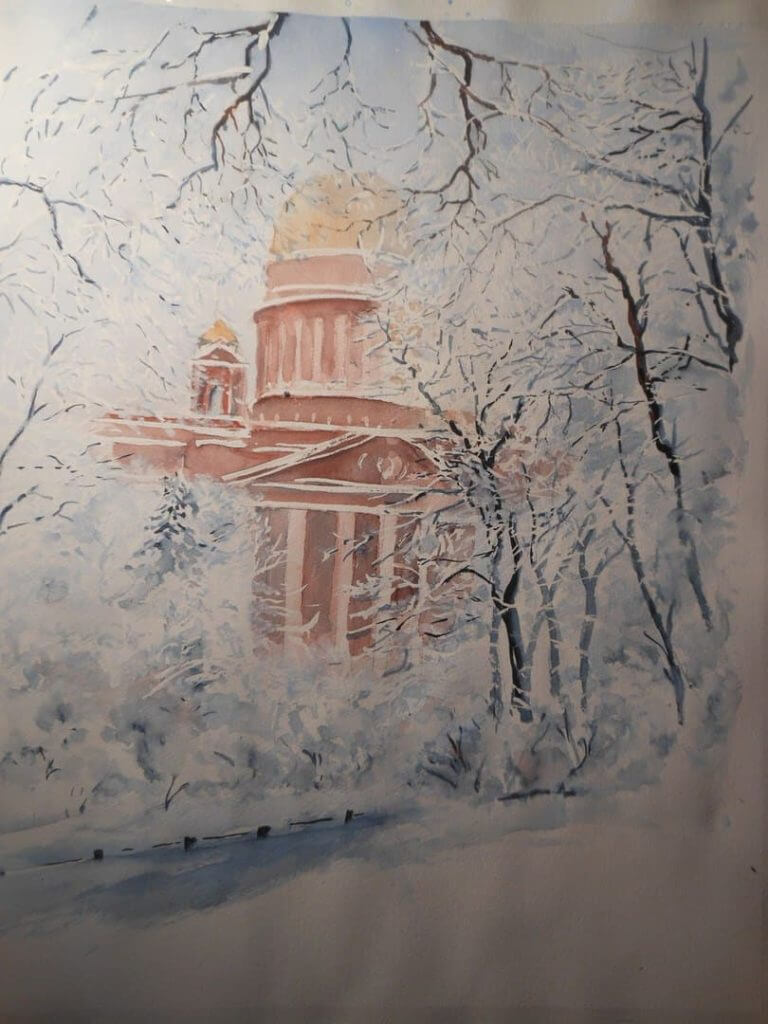 Выставка акварелей «Мой мир» Макрицкий Александр 17 – 25 февраля 2018