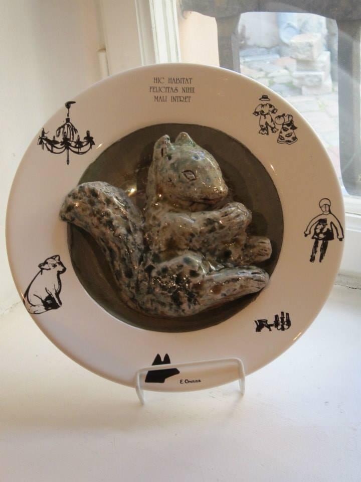 Выставка «Сто тарелок». Керамика, фарфор. 20.02 — 01.03.2020