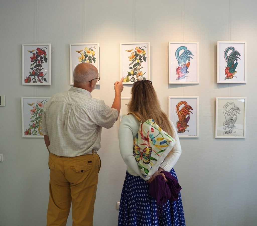 Персональная выставка графики Александра Старынина. 28 августа — 6 сентября 2020 г.