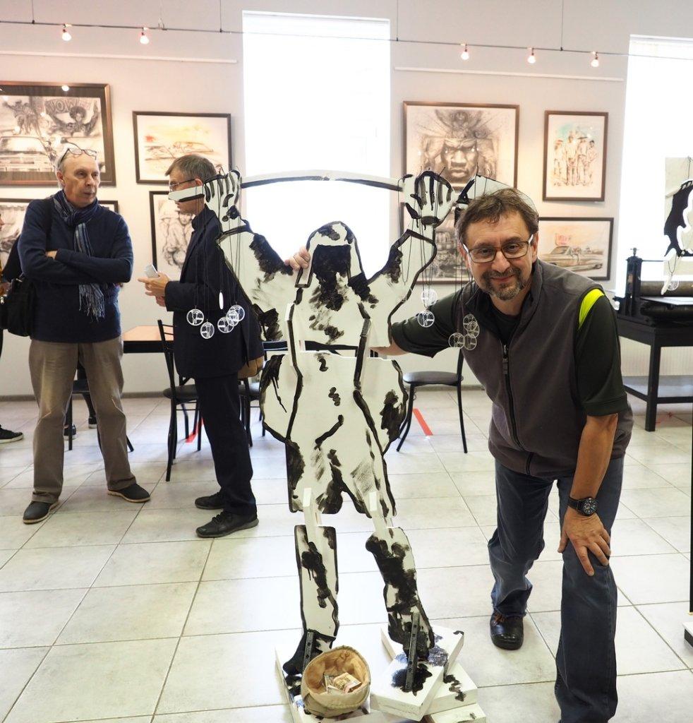 Выставка  «Шоу Нереалити». Продолжение. Михаил Базаров. 20 сентября – 30 сентября 2020 г.