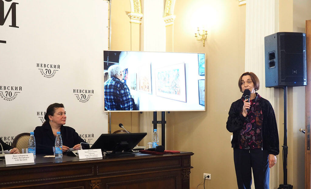 «Центр Книги и Графики» принял участие в пресс-конференции, посвященной выставке «ЗооАрт».