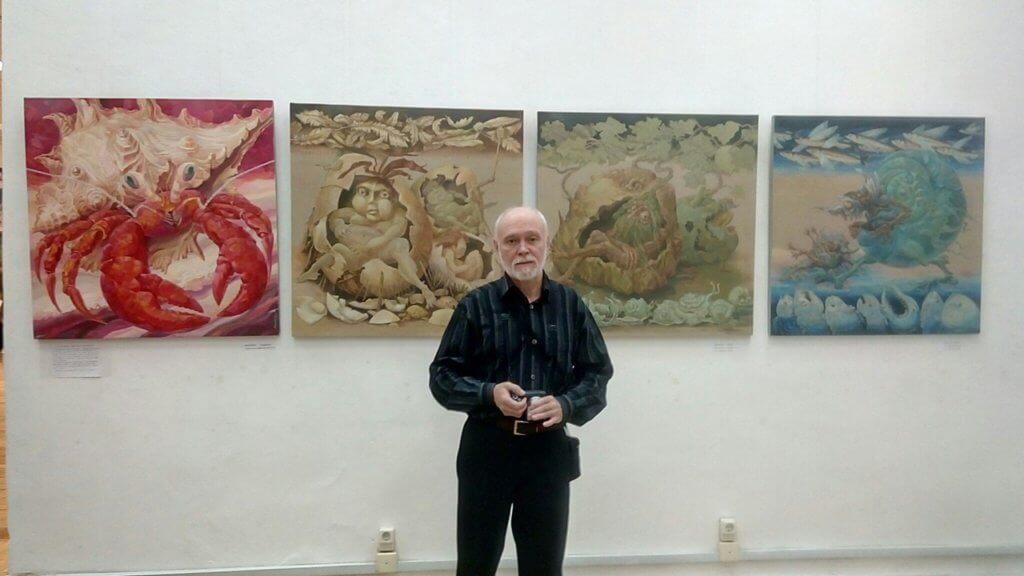 Экскурсия от художников Юрия и Людмилы Милагиных по персональной выставке «Грани реальности»