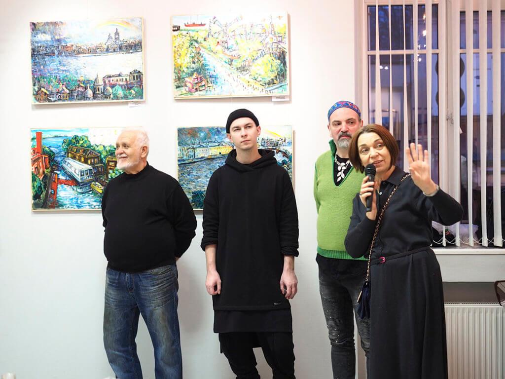 Официальное открытие выставки «Четыре угла». 06.12.2020 г.