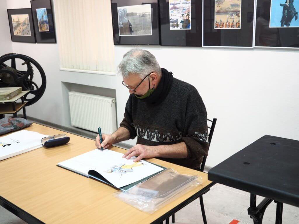 Встреча с художником-иллюстратором Михаилом Бычковым. 16.01.2021