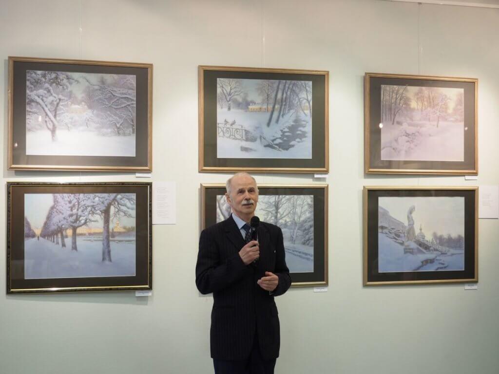 Выставка Евгения Дубицкого. «Пейзаж в пастельных тонах». 05-18.05.2021 г.
