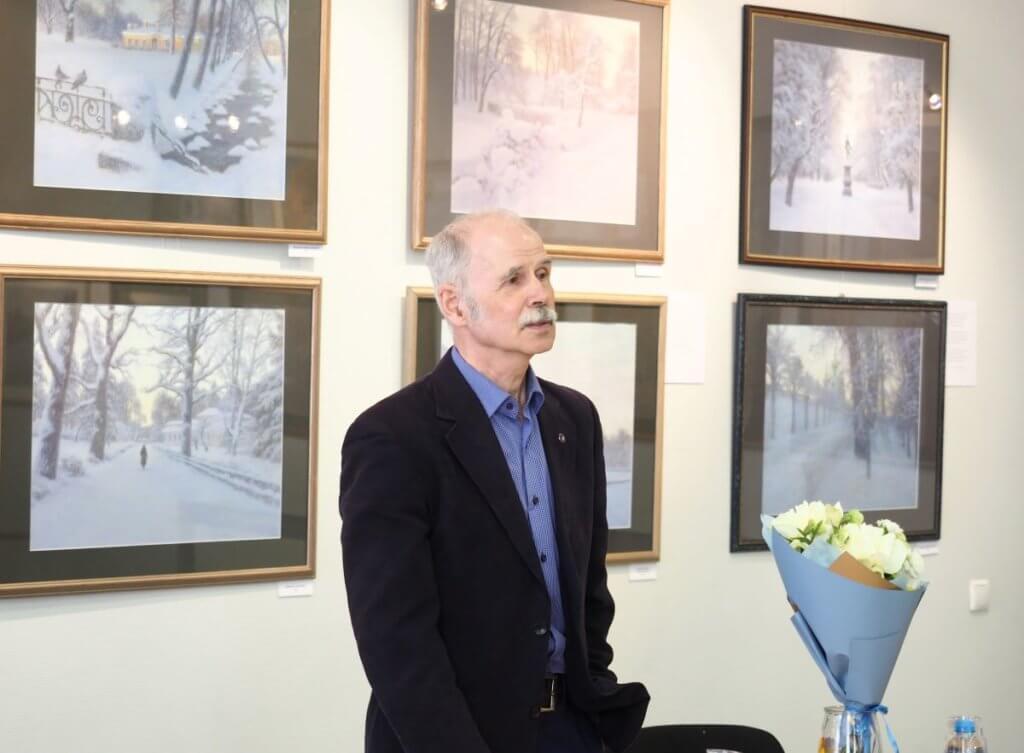 Встреча с петербургским художником-пейзажистом, членом Союза художников России Евгением Дубицким.11.05.2021